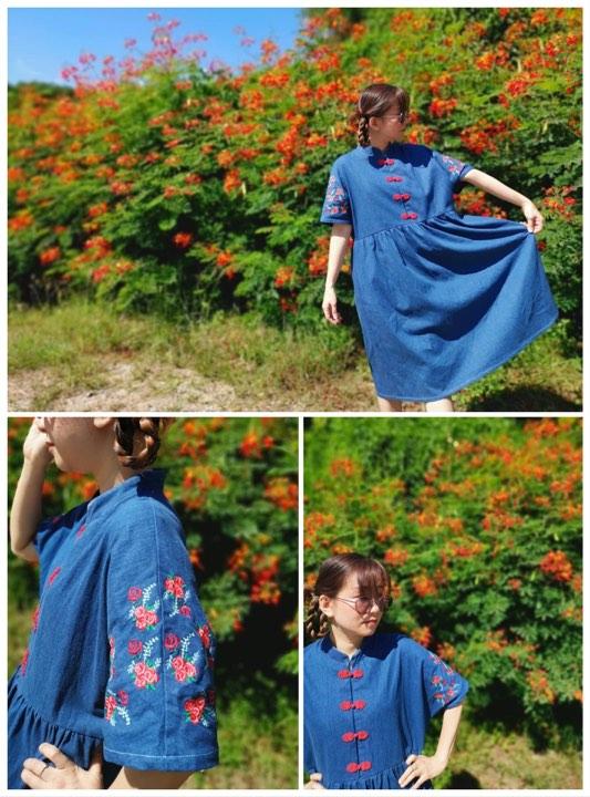 Simplicity Chinese Dress